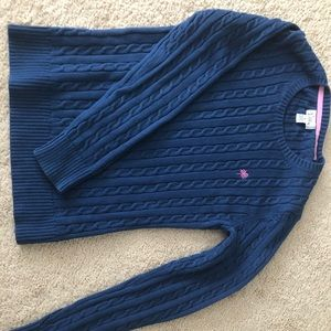 Lily Pulitzer navy blue sweater